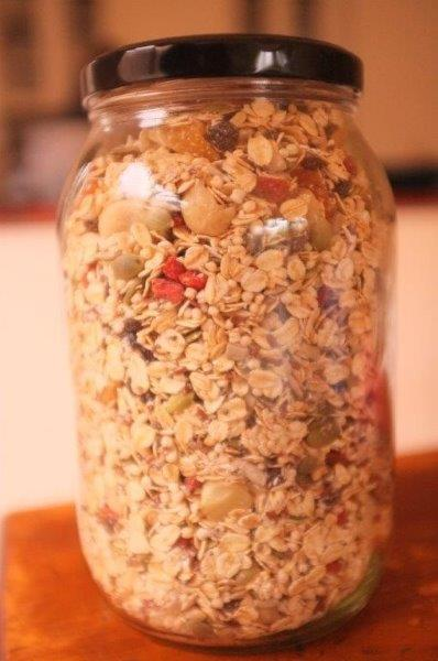 Muesli Breakfast Jar