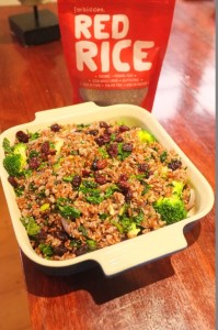 Red Rice & Broccoli with Cranberries
